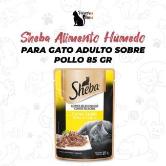 Sheba Alimento Húmedo Para Gato Adulto Sobre Pollo 85 gr