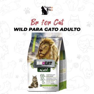 BR FOR CAT WILD GATO ADULTO