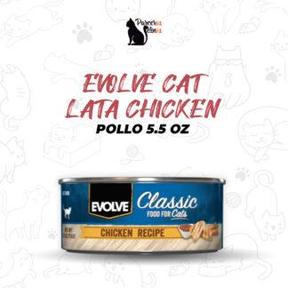 EVOLVE CAT LATA CHICKEN - POLLO 5.5 OZ