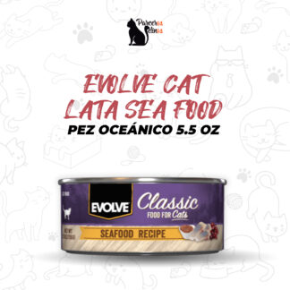 EVOLVE CAT LATA SEA FOOD - PEZ OCEÁNICO 5.5 OZ