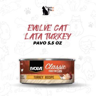 EVOLVE CAT LATA TURKEY - PAVO 5.5 OZ