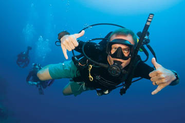 Specialty of the Month Calendar Cards, January, Dry Suit Diver