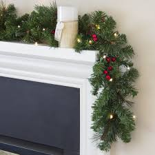 We sell garland by the foot. Feel free to buy a little or a lot!