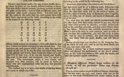 1828 Endless Amusement: Magic, Fireworks, Experiments (Sold for $80)