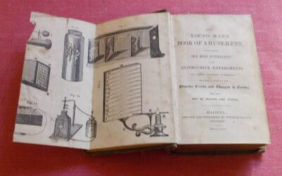 1846 The Young Man's Book of Amusement, First Edition (Sold for $120)