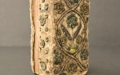 1630 Embroidered Dos-A-Dos Binding, Book of Psalms (Sold for $1,979)