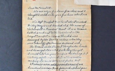 Discovering History in WWI Letters from a Soldier on the Western Front
