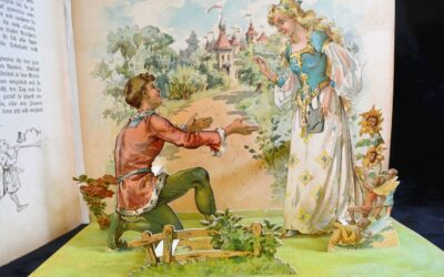 1898 German Pop-Up Children's Fairy Tale Book (Sold for $341)