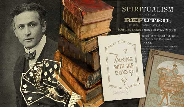 Harry Houdini's Massive Magic and Spiritualism Library Lives On Today