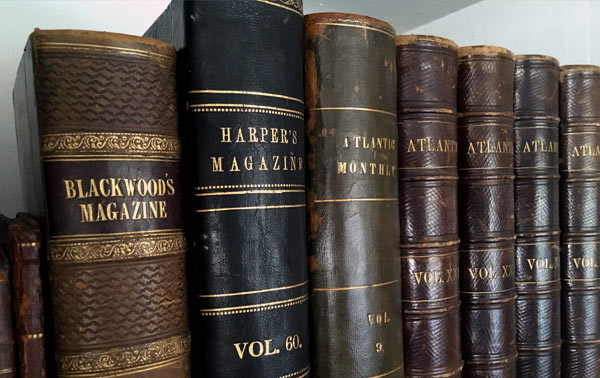 How to identify antique books