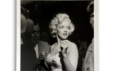 Rare 1950's Oversize Marilyn Monroe Photographs, Signed by Photographer (Sold for $4,000)