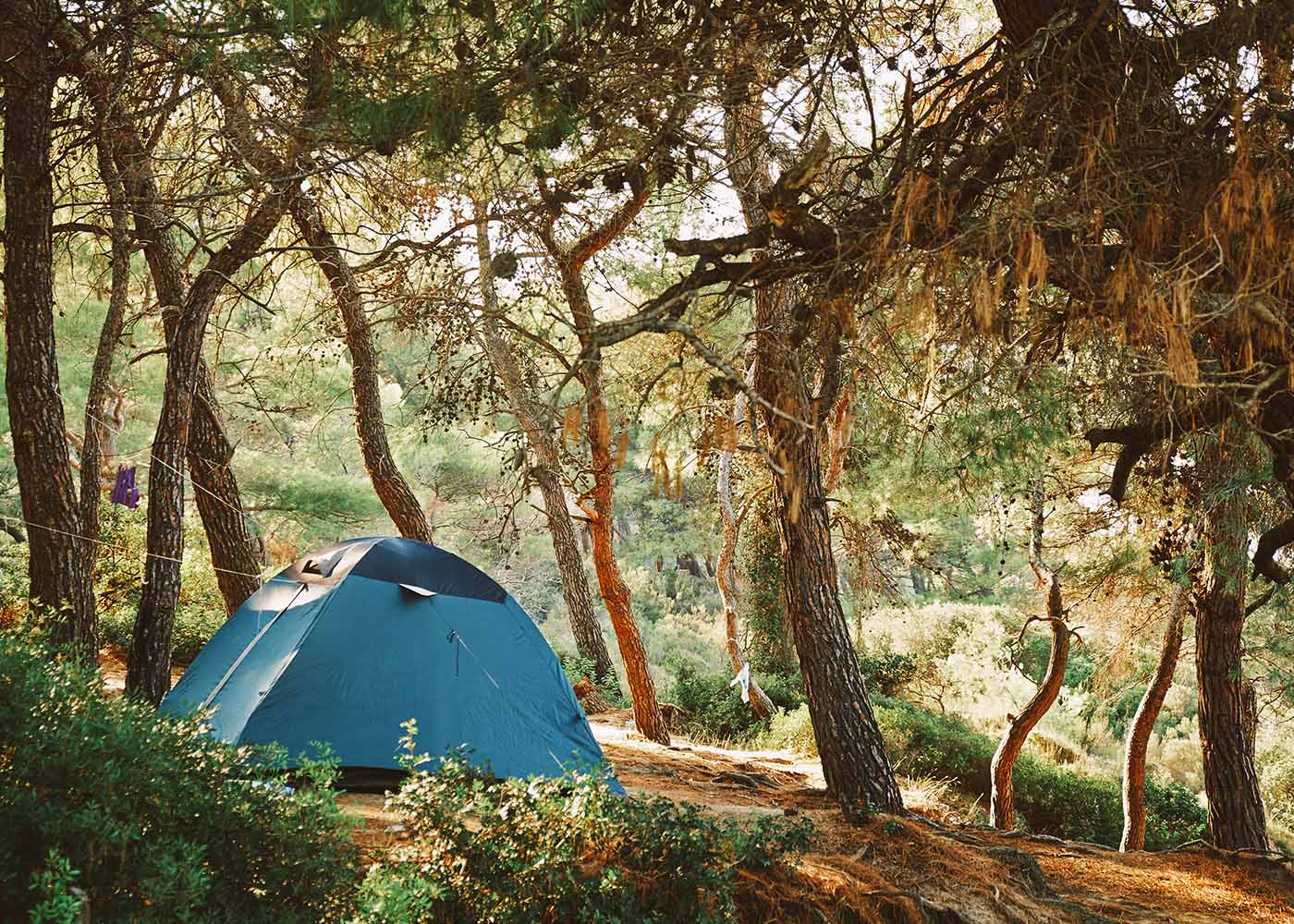 Camping in Texas