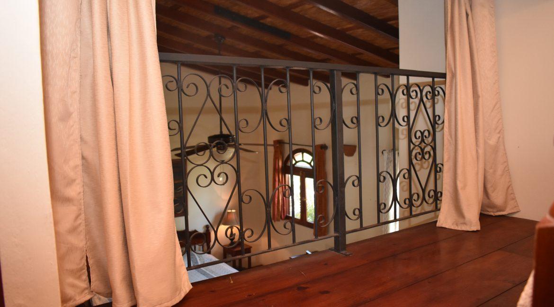 upstairs rail