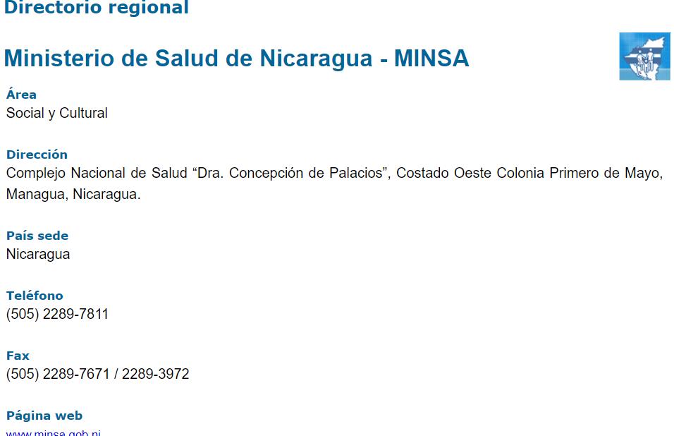 Minsa-contact-information