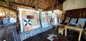 Nicaragua tile maker Favili in Granada