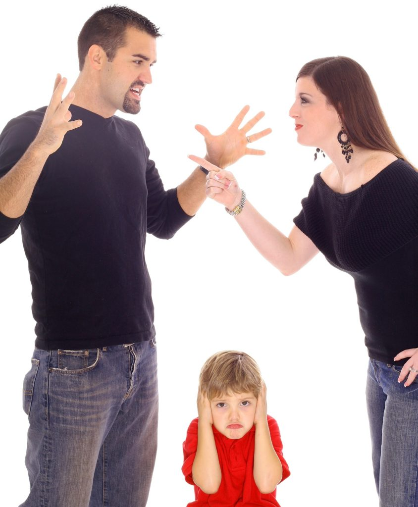 Co-parents Fighting