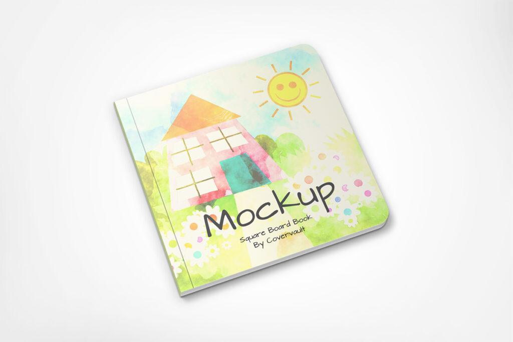 Children Book Mockup 2