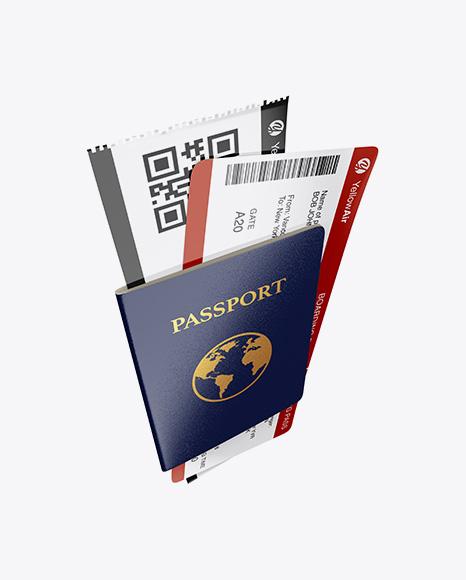 Passport Book Mockup 4