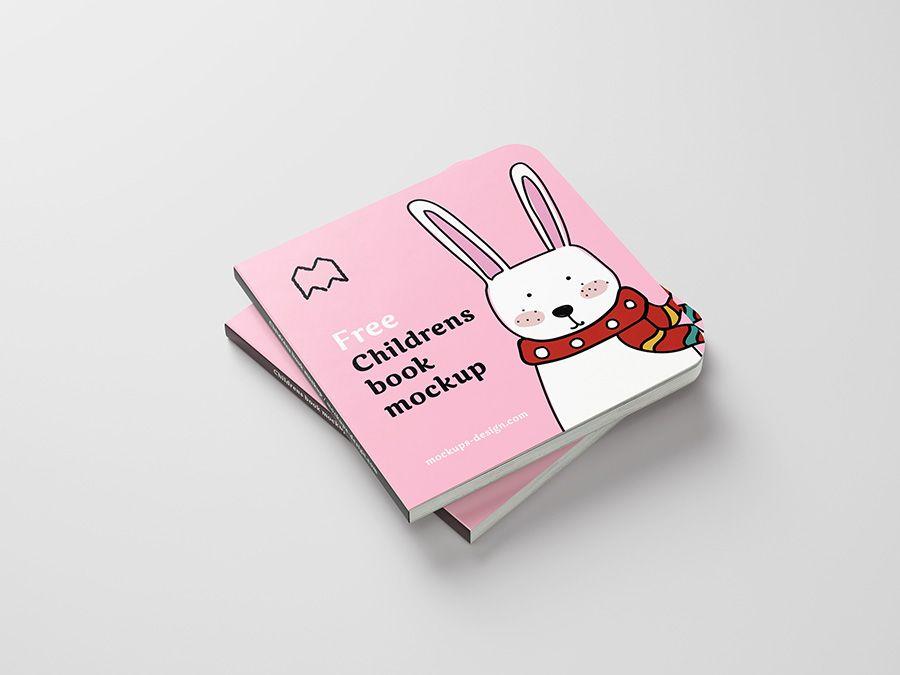 Children Book Mockup 1
