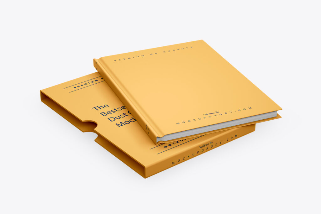 Hardcover Book with Dust Jacket