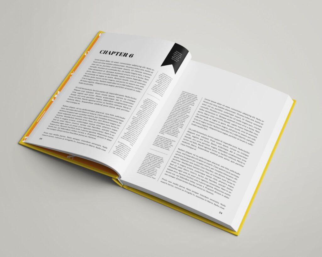 Hardcover Book Mockup 8