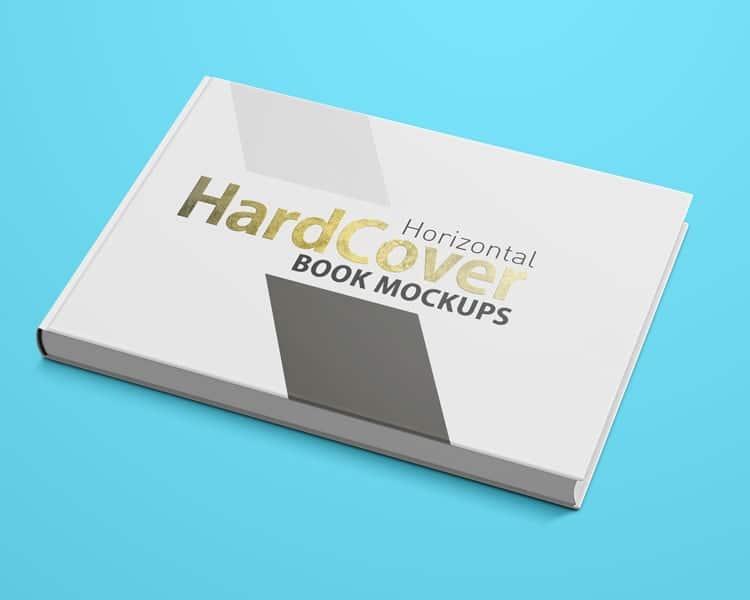 Landscape Book Mockup 6