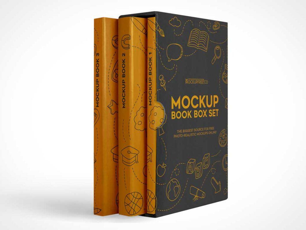 Book Box Set Mockup 2