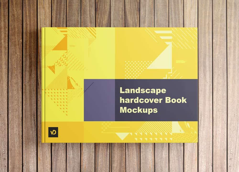 Landscape Book Mockup 2