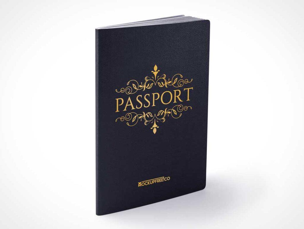 Passport Book Mockup 5