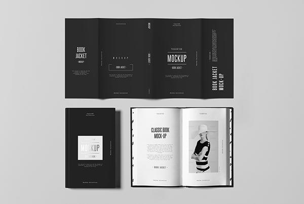 Black Book Jacket Mockup