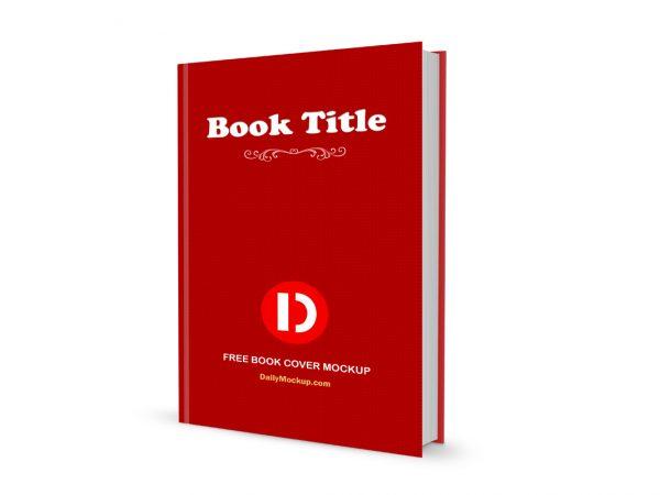 3D Hardcover Book Mockup
