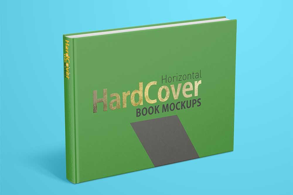 Horizontal Book Mockup 1