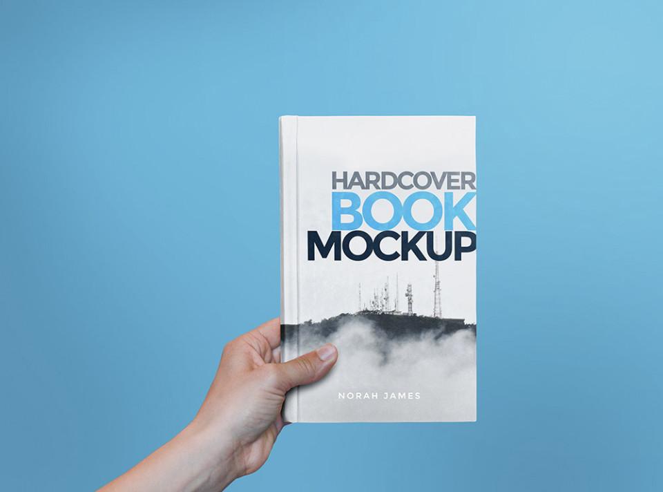 Hardcover Book Mockup 9
