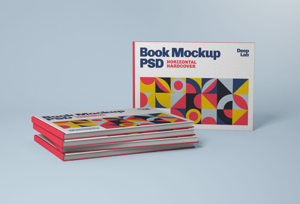 Horizontal Book Mockup 2