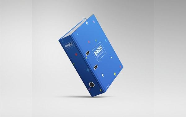 Binder Notebook Mockup