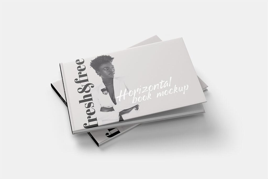 Horizontal Book Mockup 7