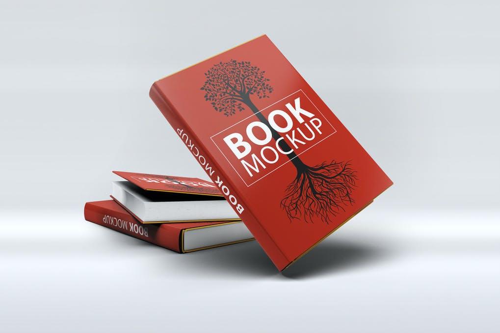 Red Book Jacket Mockup