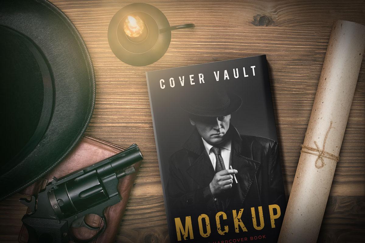 Book Cover Mockup 4