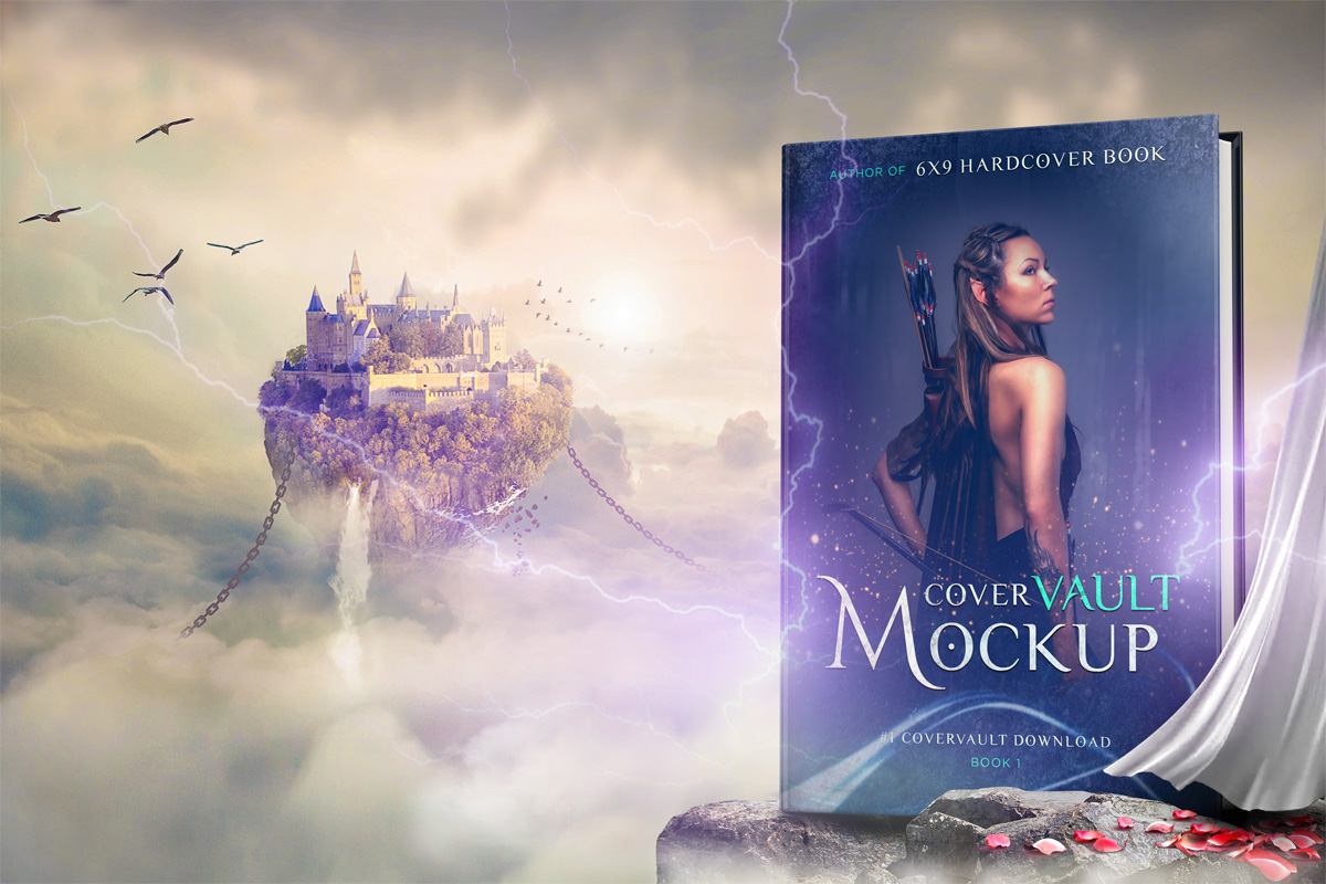 Book Cover Mockup 5