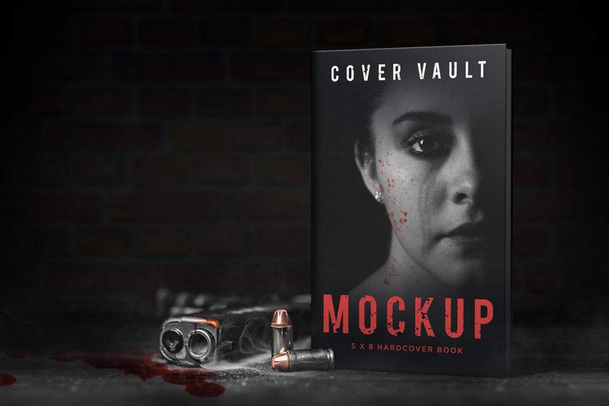 Book Cover Mockup 6