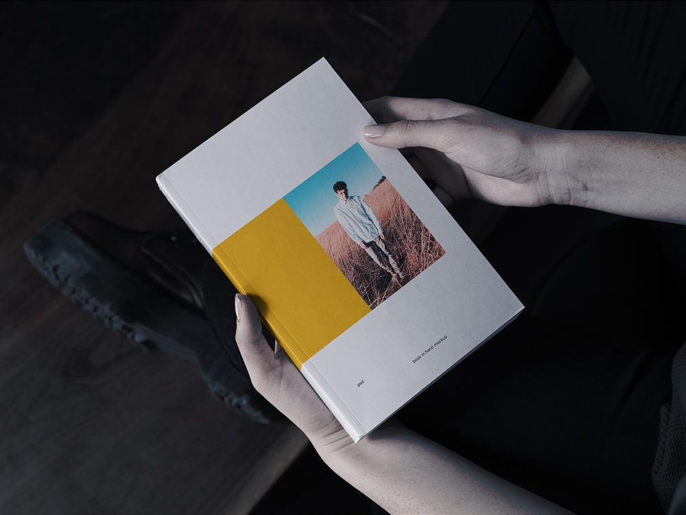 Book Cover Mockup 7