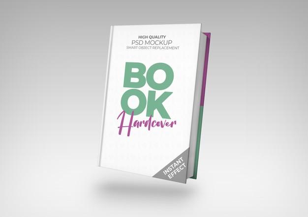 Hardcover Book Transparent Background Mockup