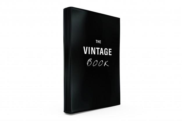 Vintage Book Transparent Background Mockup