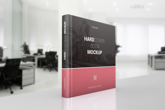 Standing Book on Office Table