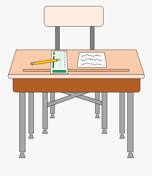 Student Desk Clipart