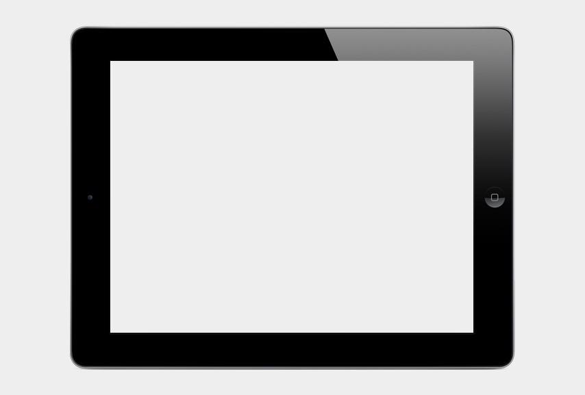 Blank iPad Clipart