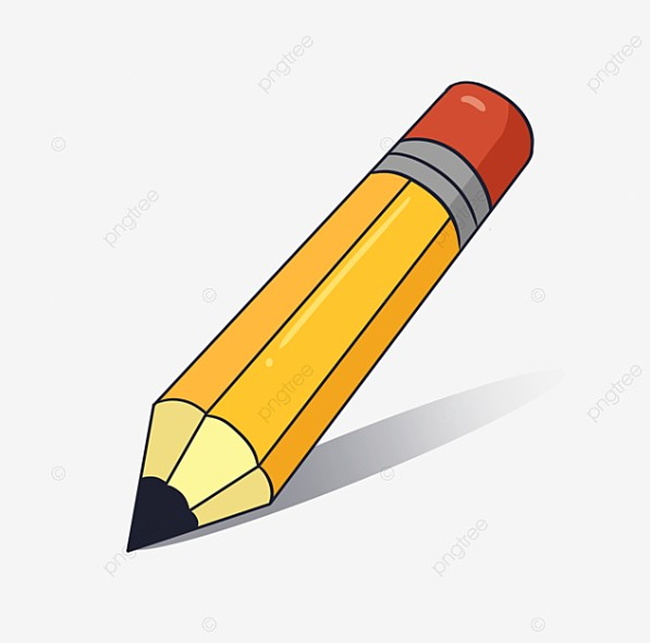 Big Yellow Pencil Clipart