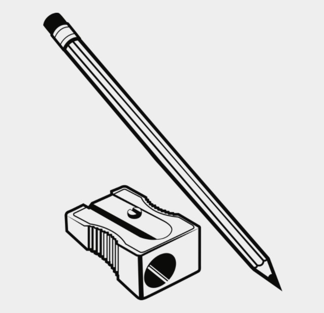 Sharpener and Pencil Clipart