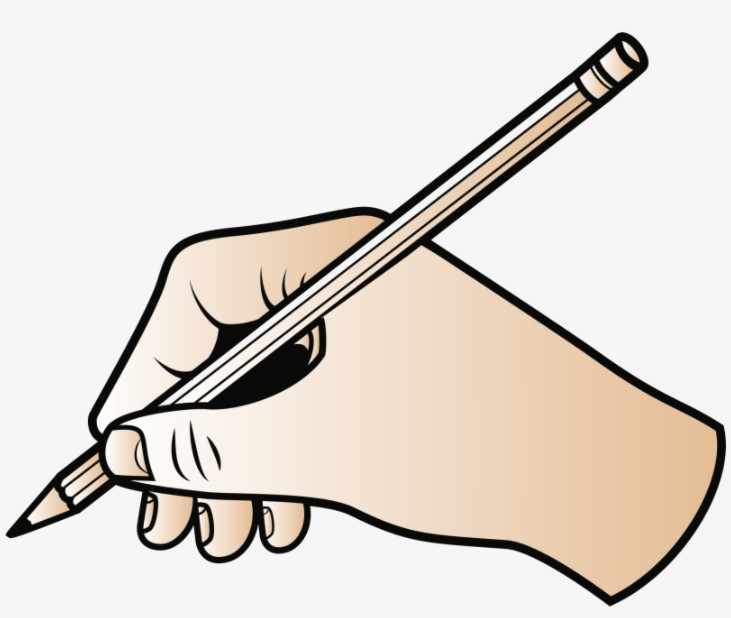 Hand Writing Clipart