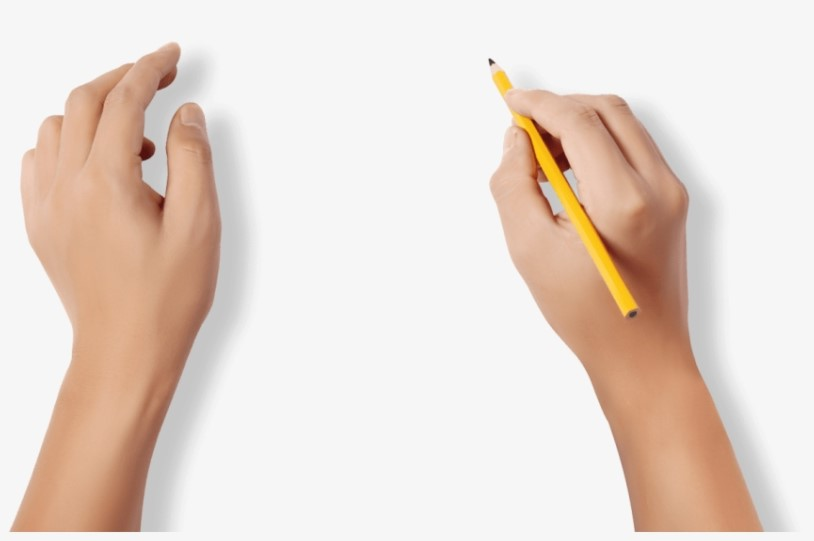 Hand Writing PNG
